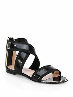 60333094b4ca Stuart Weitzman Expo Strappy Leather Sandals Summer Legs