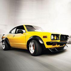 Custom Mazda RX-3 I like - http://extreme-modified.com/ #provestra