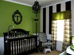 I love EVERYTHING about this.  Forget the crib, I'd do this for ME!!! sodabubbles16