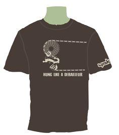 Yak tshirts. Hung like a derailleur