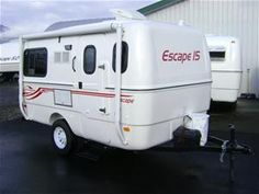 Escape fiberglass camper trailer