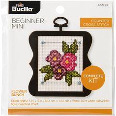 Fox Bucilla 46151 Cross Stitch Beginner Stitchery Mini Kit