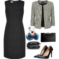 One #dress many looks #businessattire #styling #elegance #womeninbusiness #modernjewellery #earrings #instastyle #redpointtailor #fashion #style #ootd #becreative http://bit.ly/1ZZaNt7