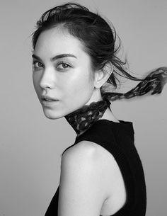 TV Beauties Turn VOGUE Models