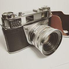 1940's Kodak Retina III S 35mm Film Camera. For sale at my Etsy Shop. I'm under Film N Digital