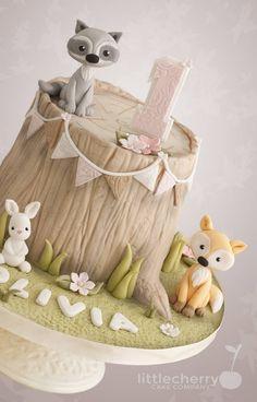 New birthday cake fondant tree stumps 15 ideas Animal Birthday Cakes, New Birthday Cake, Animal Cakes, Birthday Wishes, Fondant Tree, Fondant Cakes, Tree Stump Cake, Tree Stumps, Nature Cake