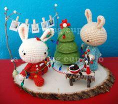 Crochet - Christmas amigurumies!
