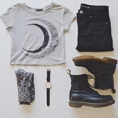 THE ESSENTIALS. xx Boots, denim, & a graphic tee. www.joyoustee.com