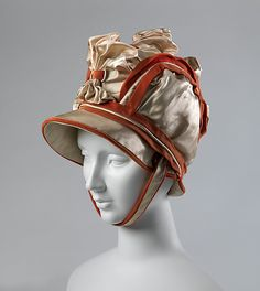 Hat Date: ca. 1811 Culture: French Medium: silk Accession Number: 2017.73 | The Met