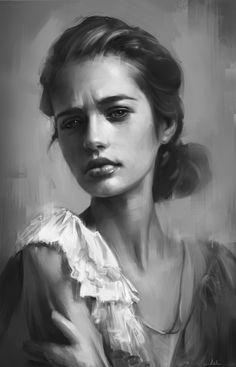 Portrait Practice 9 by AaronGriffinArt.deviantart.com on @deviantART