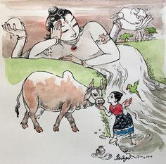 Immersing in KrishnAnubhava. Tiruppavai notes 02. #krishnafortoday