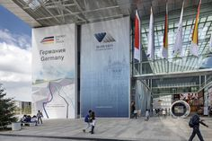 German pavilion at Astana EXPO 2017. Designed and realised by insglueck | gtp2 | mac. Creative Direction: Andreas Horbelt. Photo: Andreas Keller.