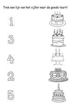 food number count worksheet (2)