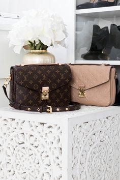 Empreinte - My Philocaly Taschen Von Louis Vuitton, Lv Pochette, Vintage Leather, Handmade Leather, Shoulder Handbags, Shoulder Bags, Leather Handbags, Leather Bags, Big Bags