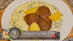 Tvarůžková omáčka - Cheese sauce - YouTube Cheese Sauce, Beef, Youtube, Tv, Food, Meat, Eten, Ox, Ground Beef