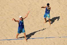Alison e Bruno Schmidt, vôlei praia, Olimpíada (Foto: Quinn Rooney/Getty Images)