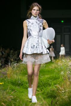 The latest looks from Moncler Gamme Rouge.
