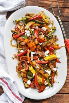 Easy Balsamic Grilled Vegetables are loaded with the best summer produce in a sweet, tangy marinade. Grilled Vegetable Recipes, Grilled Vegetables, Grilling Recipes, Vegetarian Recipes, Cooking Recipes, Healthy Recipes, Vegetarian Grilling, Healthy Grilling, Grilling Tips