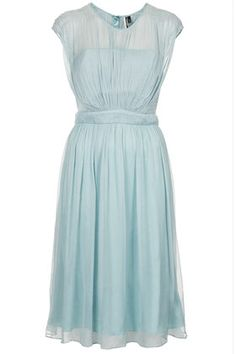Topshop 'Limited Edition Chiffon Skate Dress' $240. (Could totally see Kate wearing this.)