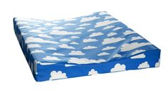 Farg Form Changing Matts with Beautiful Blue Cloud Design from Kidsen