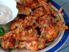 chicken wings recipes, hot, spicy, baked, poultry, buffalo, receipts - © 2011 Bonnie Zaiss, licensed to About.com, Inc.