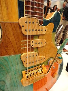 I have never seen anything like this guitar before. Its cool! Mats Nermark - Guitarist, Composer, Arranger