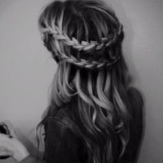 two braids... looks complicated!