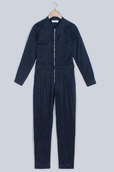 Handsom Navy Friday Jumpsuit