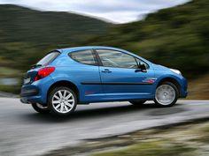 Peugeot 207 Rallye panning
