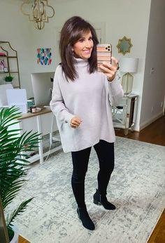 Fashion Moda, Fashion Line, Fashion Over 40, Fashion 2020, Moda Chic, Moda Boho, Fall Winter Outfits, Winter Fashion, Cute Oversized Sweaters