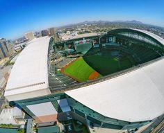 album photo drone hubbard_photography  Chase Field- Home of the Arizona Diamondbacks by hubbard_photography  Fly Me.
