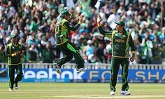 Saeed Ajmal (centre) and Misbah-ul-Haq (right) are among the cricketehttp://www.cricketworld.com/pakistan/&p=10rs ICA have helped recently