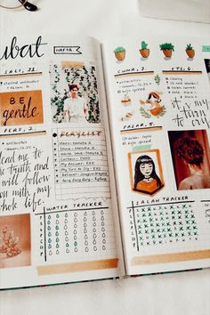 Find images and videos about journal, bullet journal and stationery on We Heart It - the app to get lost in what you love. Bullet Journal Books, Bullet Journal 2019, Bullet Journal Ideas Pages, Bullet Journal Spread, Bullet Journal Inspo, Scrapbook Journal, Journal Layout, My Journal, Bujo