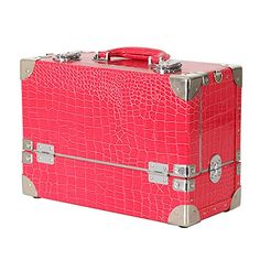 Cosmebox7 Makeup Box 3 Column Dff301 Crocodile Pink Beauty Cosmetics & Professional Makeup Train Case Cosmebox7 http://www.amazon.com/dp/B00ZKLQNKA/ref=cm_sw_r_pi_dp_Z.-8wb1NMAS37