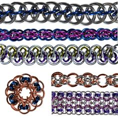 DIY Jewelry Free Tutorial Chainmaille | Helm Variations | Blue Buddha Boutique