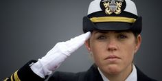 A lieutenant in the United States Navy (not the author), renders a salute in November 2008.