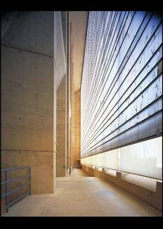 Interior of the Cathedral of Our Lady of the Angels, Los Angeles. Architect: Rafael Moneo and Leo A. Daly.  Photograph by Julius Shulman & David Glomb