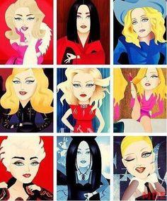Decades Of Madonna Lady Madonna, Madonna Art, Madonna Pics, Divas, Madonna Albums, Best Female Artists, Madona, Pop Art, Madonna 80s