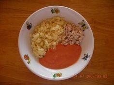 Rajská omáčka s těstovinami a kuřecím masem Grains, Rice, Health, Food, Health Care, Essen, Meals, Seeds, Yemek