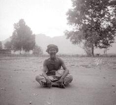Een oude Javaan die in 1880 aan de Borobodur gewerkt heeft onder leiding van Dr.J.W. IJzerman. 1931