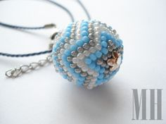 BŁĘKITNY ZESTAW | MH Biżuteria - cuda ręcznie wykonane