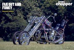 Far Out And Funky / Kawasaki Oldschool Chopper