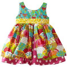 Jelly The Pug Baby-Girls Infant Happy Katy Dress $36.00