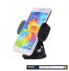 Huiker Car Mount Phone Holder Windshield Dashboard Mount with Universal Cradle 360 Rotating and Powerful Suction Pad for iPhone Samsung Galaxy Edge Note LG Nexus Smartphones and GPS Devices * You can get more details by clicking on the image. (Note:Amazon affiliate link) Car Phone Mount, Car Mount, Car Gadgets, Phone Holder, Smartphone, Samsung Galaxy, Note, Iphone, Amazon