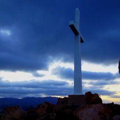 A beautiful sunrise at the top of Mt. Rubidoux, Riverside, CA