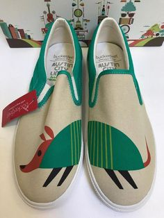 ACL Austin City Limits Bucketfeet Womens Sz 9 Slip On Shoes Armadillo Artist Black Slip On Sneakers Outfit, Slip On Shoes, Sneakers Fashion, Two Strap Sandals, Open Toe Sandals, Acl Austin, Leather Clogs, Black Leather, Bucketfeet Shoes