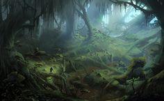 fantasy city concept art | Dragon_Age_Inquisition_Environment_Concept_Art_10