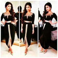 Mouni Roy wearing Roshni Chopra