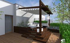 Projekt pergoli i tarasu Pracownia Inter-Arch Architekci (2)