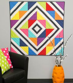 Dot To Dot Quilt | Free quilt patterns | DIY Quilting Projects